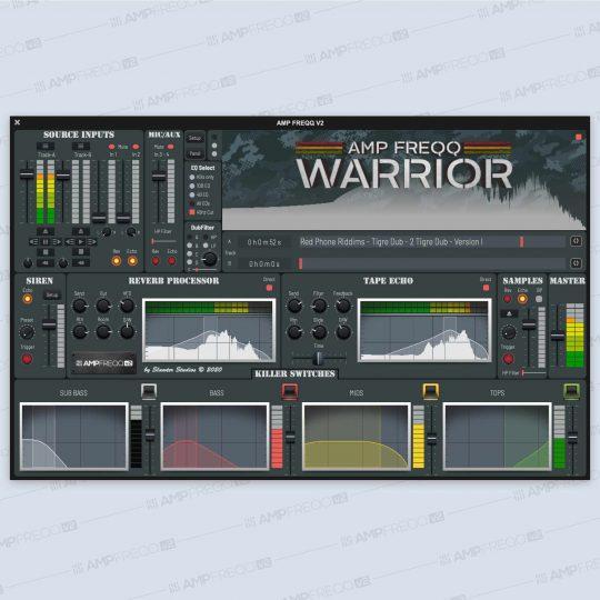 amp freqq v2 screenshot